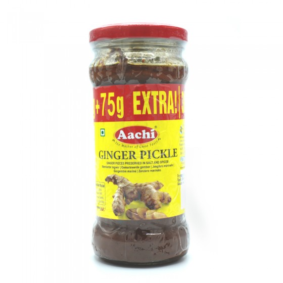 Aachi Ginger Pickle 375gm