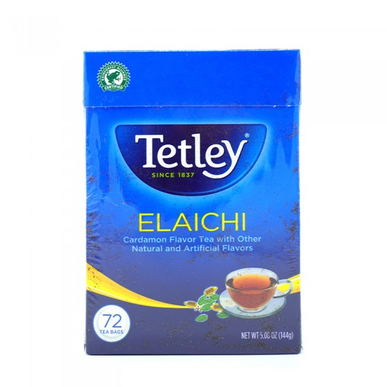 Tetley Elaichi 72 Tea Bags