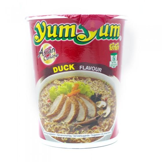 Yum-Yum Duck flavour...