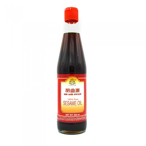 OH AIK Gaun Sesame Oil 650ml