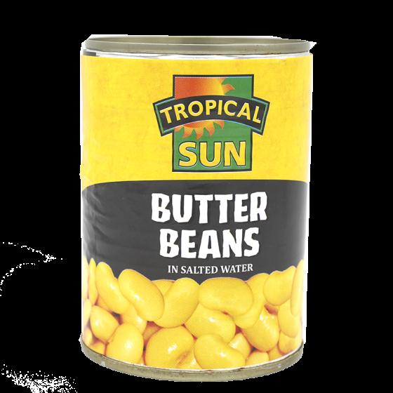 Tropical Sun Butter Beans...