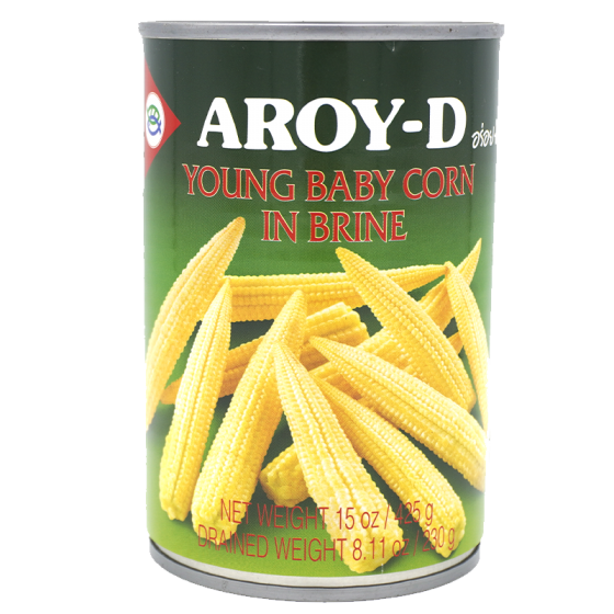 Aroy-D Young Baby Corn 425 Gm