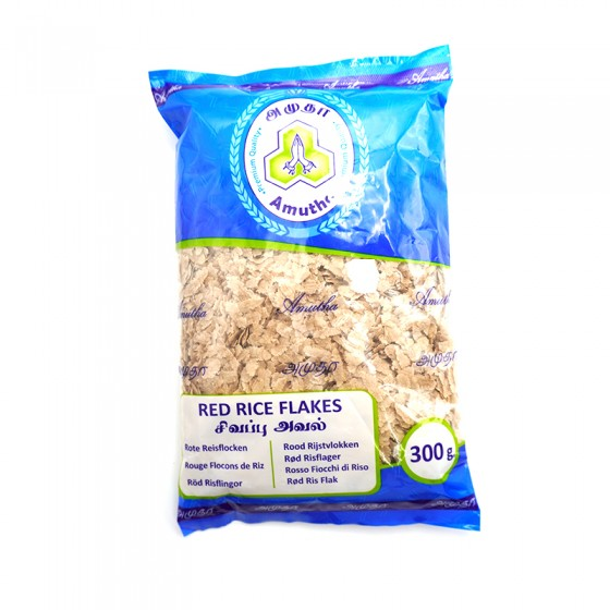 Amutha Red Rice Flakes 300gm