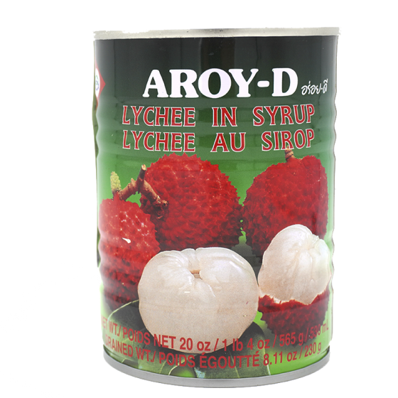 Aroy-D Lychee in Syrup 565Gm