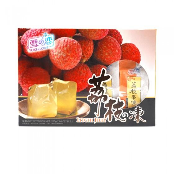 Yuki & Love Litchi Jelly 200gm