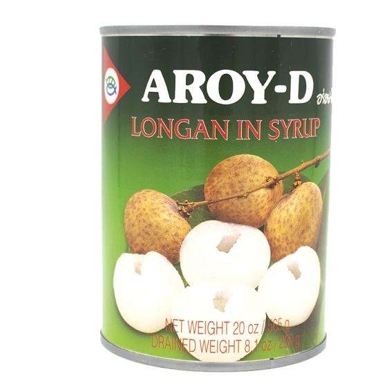 Aroy-D Longan in Syrup 565Gm