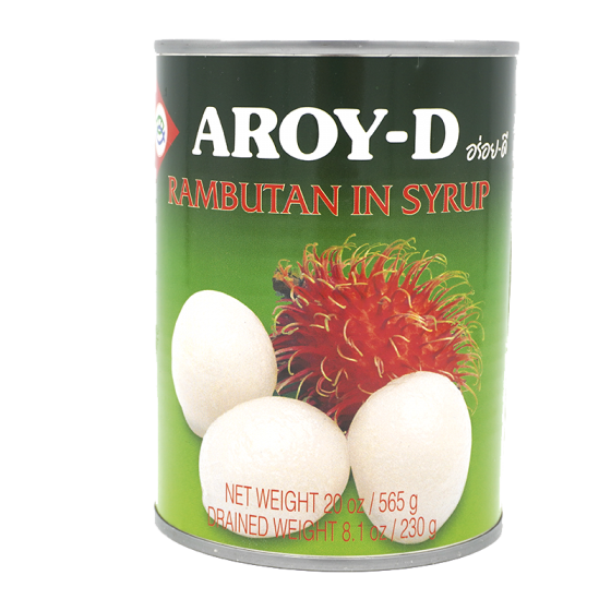 Aroy-D Rambutan in Syrup 565Gm