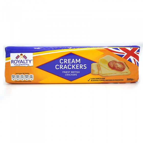 Royalty Cream Crackers 300gm
