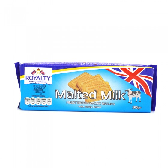 Royalty Mlted Milk Biscuits...