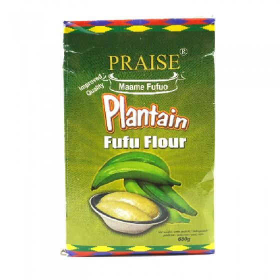 Praise Plantain Fufu Flour...