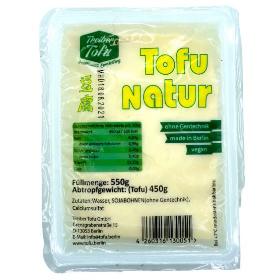 Tofu Natur 550gm