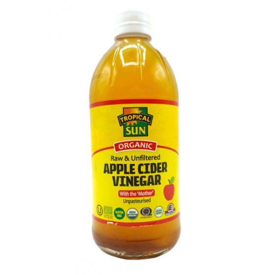 Tropical Sun apple cider...