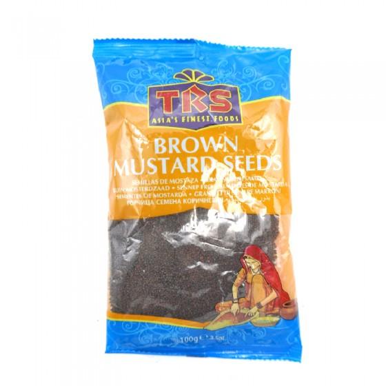 TRS Brown Mustard Seeds 100gm