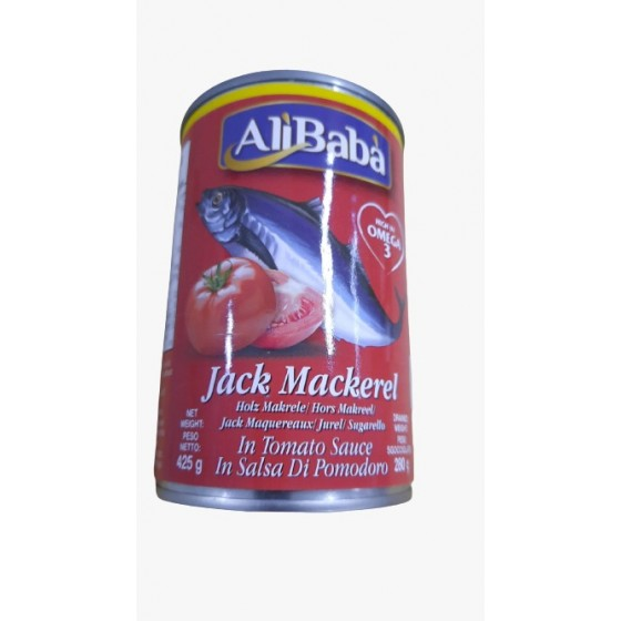 Ali Baba Jack Mackerel 425gm