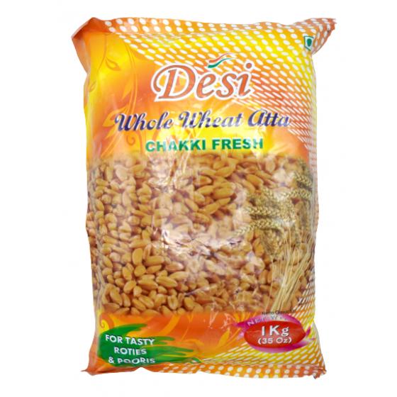 Desi whole wheat ata 1kg