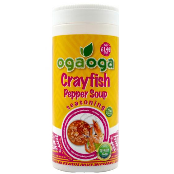 Ogaoga Crayfish Pepper soup...