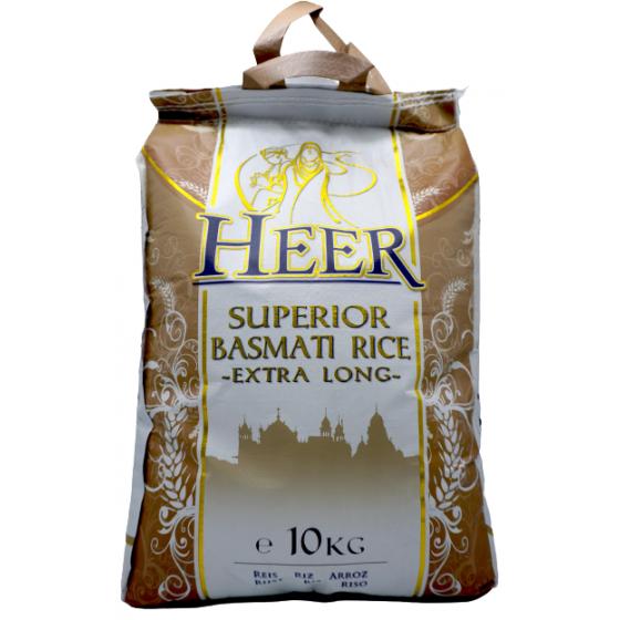 Heer Superi Basmati Rice 10kg
