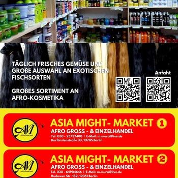 GROSSER VERKAUF! GROSSE ANGEBOTE!! Bis zum 30. November 2021 warten viele spannende Sonderangebote auf Sie. Nutzen Sie jetzt diese Chance. Alle afrikanischen Lebensmittel erhältlich. Besuchen Sie unseren Laden oder bestellen Sie online, wir bringen Ihre Einkäufe direkt vor Ihre Haustür.  Jetzt sind wir online https://asiamight.de/ Viel Spaß beim Einkaufen im Asia Might Supermarkt  Rudower Straße 132, 12351 Berlin  Kurfürstenstraße 33, 10785 Berlin  ZossenerStraße 13, 10961 Berlin  #grocerysgopping #grocery #groceries #getgrocery #bestprice #healthy #food #groceriesingermany #germanyfood #afrofood #africansingermany #africaninberlin #africangrocery #africanfood #healthy #orderonline #angebote #offers #greatoffer #shoppingingermany #onlinestore #indianstore #africanstore #rice #fish #noodles #goatmeat #plaintaifufu #freshyam