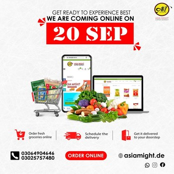 5 Days to go! Are you excited? 🤩🥳  We just leveled up. From 20th September,  we are bringing online shopping service. Now you can order your favorite products online. - We offer you one of the largest selections of original Indian, Afro and Latin foods with 100% quality.   #groceryinberlin #groceriesingermany #asiamight #africangrocery #grocery #onlineshopping #indiangrocery #indiansinberlin #africansinberlin #groceryshop #berlinfood #getgrocery #africanchili  #bestprice #healthy #food #groceriesingermany #germanyfood  #vegan #afrofood #africaningermany #indianingermany #asianshop #asingrocery #africangrocery #indianfood